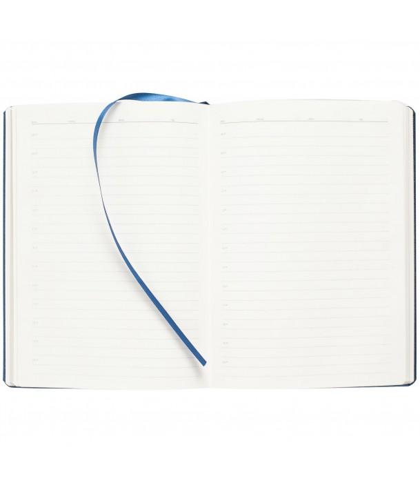 Ежедневник Saffian недатированный, синий Адъютант