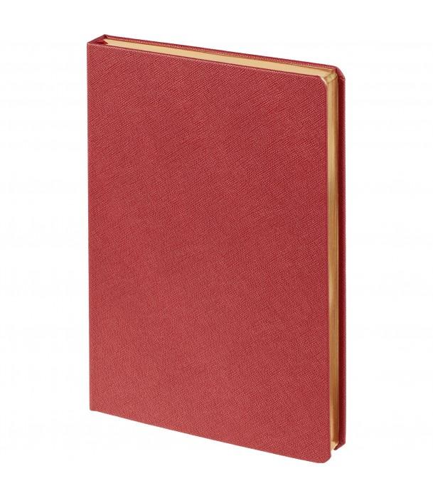 Ежедневник Saffian недатированный, красный Адъютант