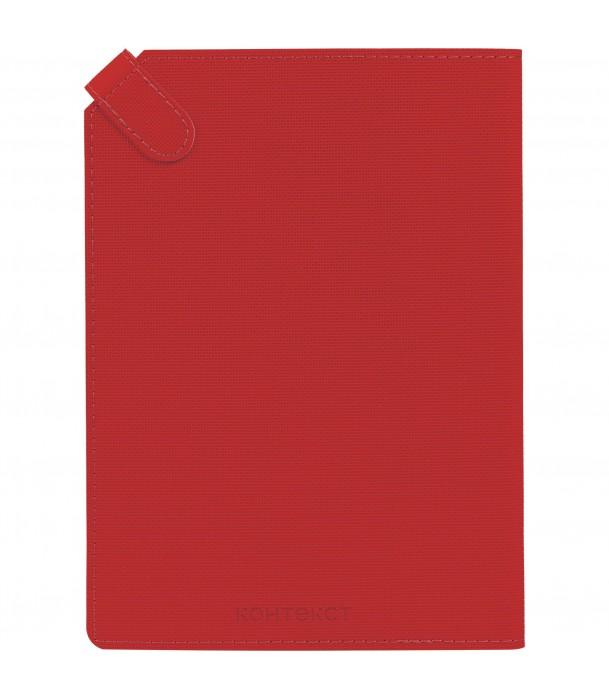 Ежедневник Tenax недатированный, красный Адъютант