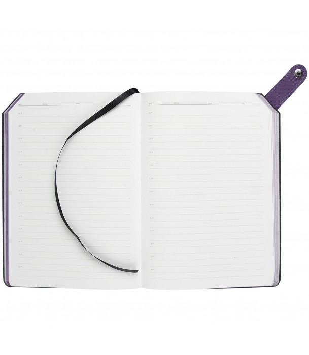 Ежедневник Tenax недатированный, фиолетовый Адъютант