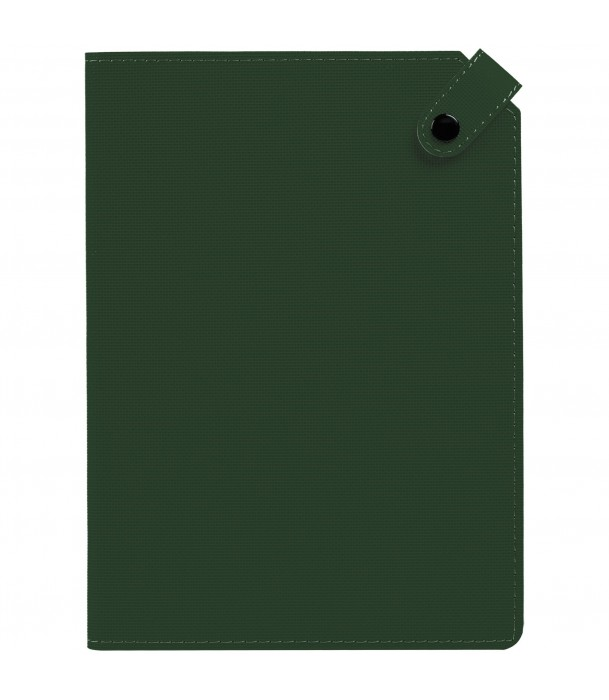 Ежедневник Tenax недатированный, зеленый Адъютант