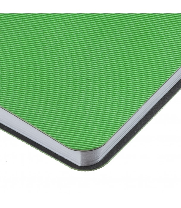 Блокнот зеленый Twill Адъютант