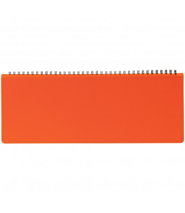 Планинг Latte, недатированный, оранжевый Адъютант
