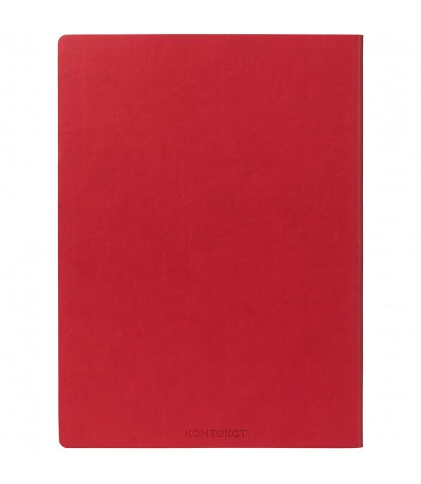 Блокнот Mild, красный Адъютант
