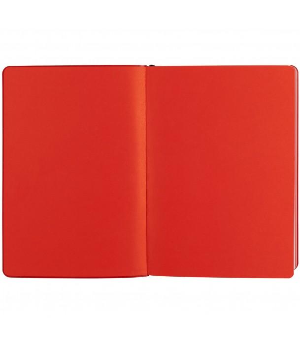Ежедневник SLIP недатированный, черный с красным Адъютант