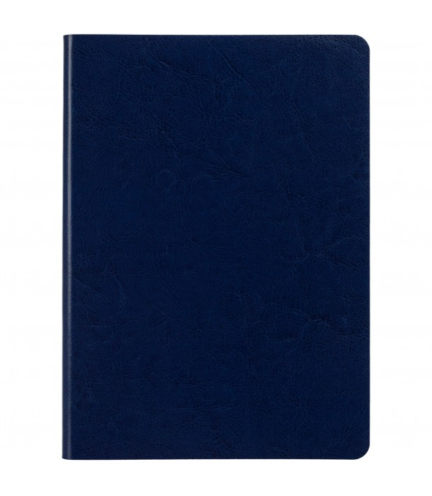 Ежедневник SLIP недатированный, сине-голубой Адъютант