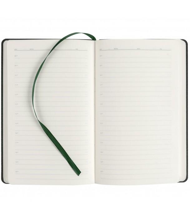Ежедневник RUNWAY недатированный, зеленый Адъютант