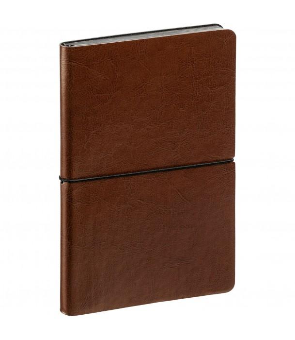 Ежедневник SHINE недатированный, коричневый Адъютант