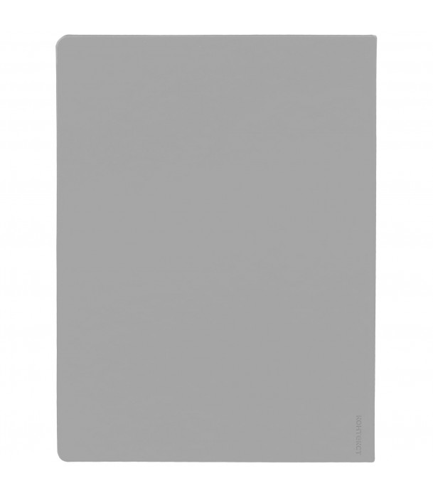 Еженедельник Maxi Shall, недатированный, серый