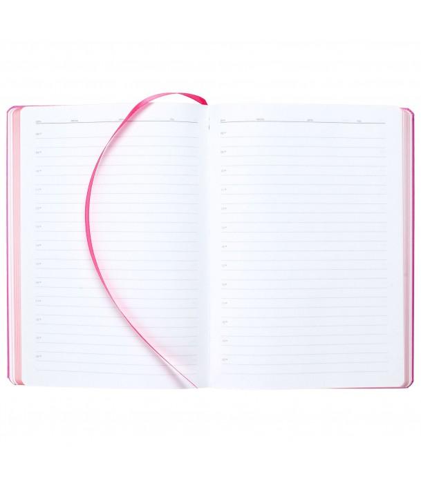 Ежедневник Brand Tone недатированный, розовый Адъютант