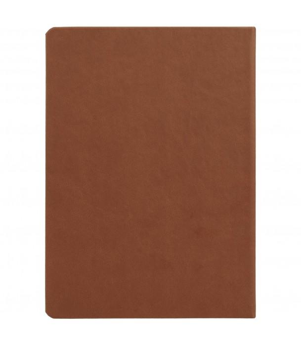 Ежедневник Brand Tone недатированный, коричневый Адъютант