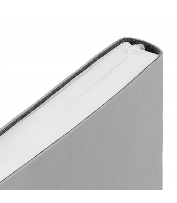 Ежедневник Flex New Brand недатированный, светло-серый Адъютант