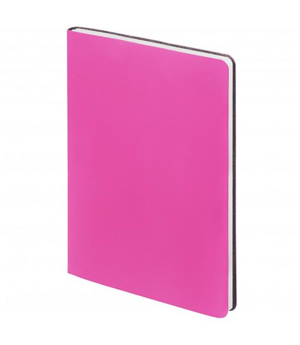 Ежедневник Flex New Brand недатированный, розовый Адъютант