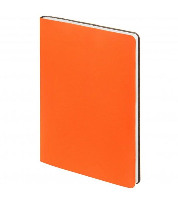 Ежедневник Flex New Brand недатированный, оранжевый Адъютант