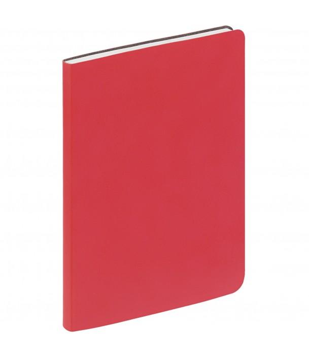 Ежедневник Flex New Brand недатированный, красный Адъютант