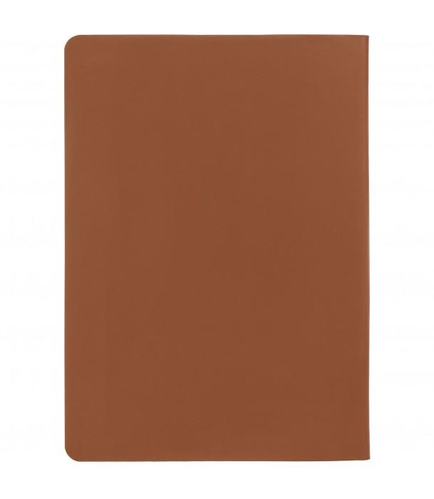 Ежедневник Flex New Brand недатированный, коричневый Адъютант
