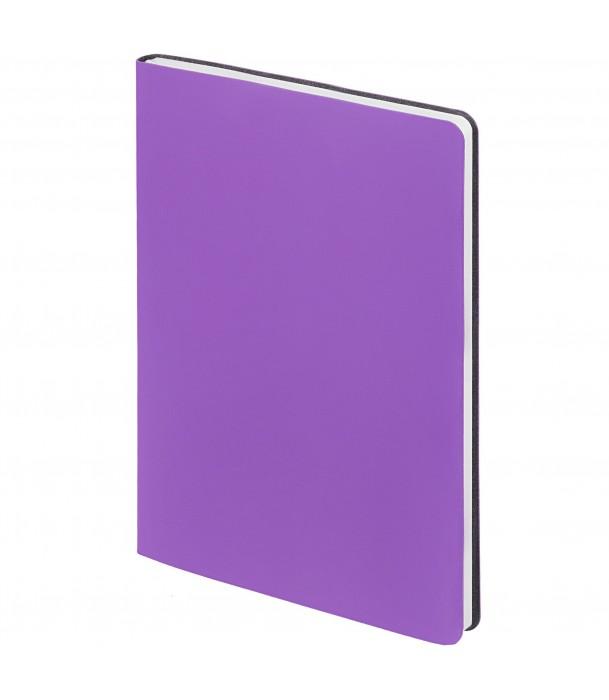 Ежедневник Flex New Brand недатированный, фиолетовый Адъютант