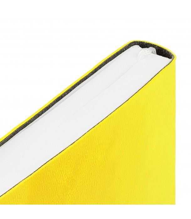 Ежедневник Flex New Brand недатированный, желтый Адъютант