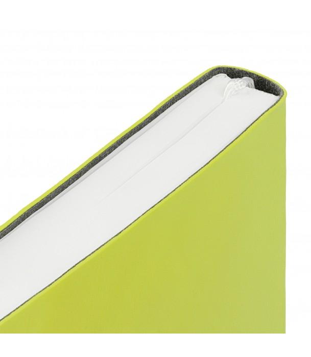 Ежедневник Flex New Brand недатированный, светло-зеленый Адъютант