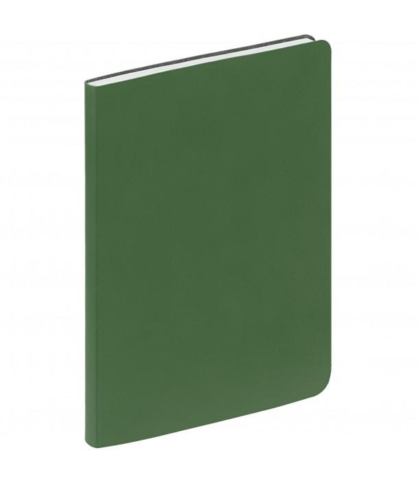 Ежедневник Flex New Brand недатированный, зеленый Адъютант