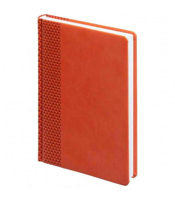 Ежедневник Brand недатированный, оранжевый Адъютант