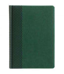 Ежедневник Brand недатированный, зеленый