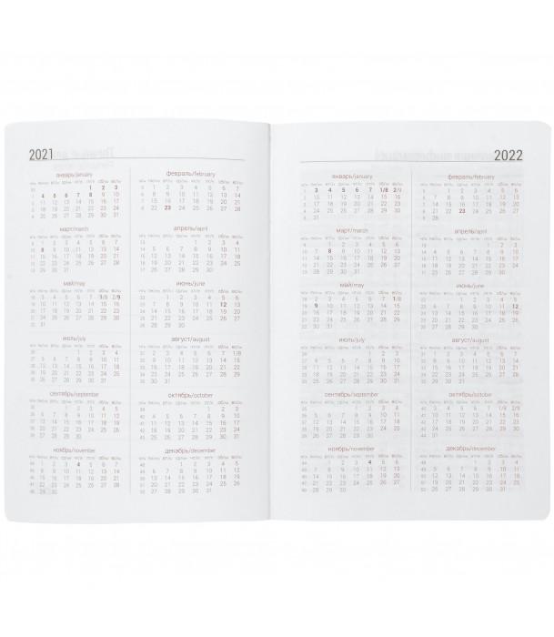 Ежедневник Basis, датированный серый Адъютант