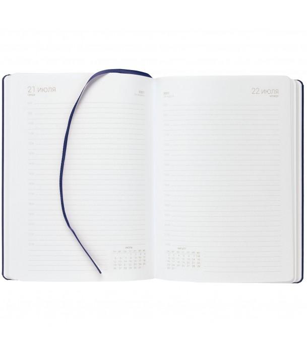 Ежедневник Basis, датированный синий Адъютант