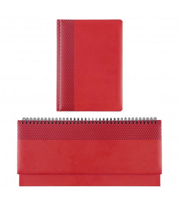 Планинг Brand, датированный, красный Адъютант