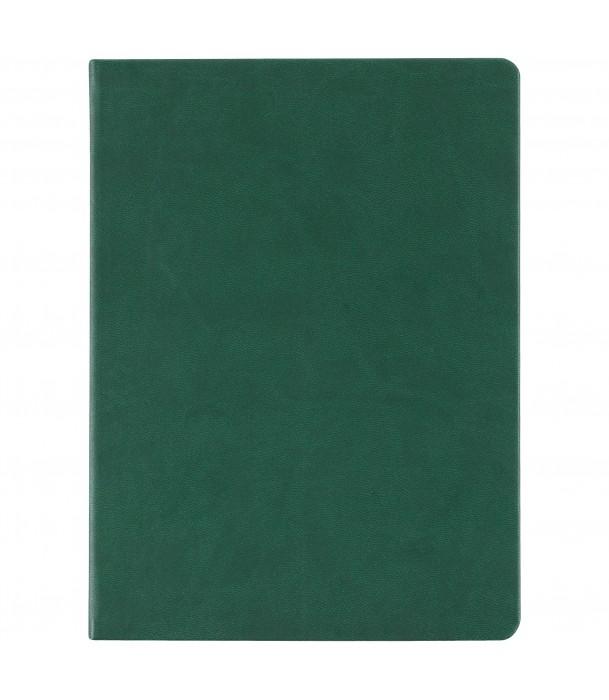 Блокнот зеленый Scope, в линейку Адъютант