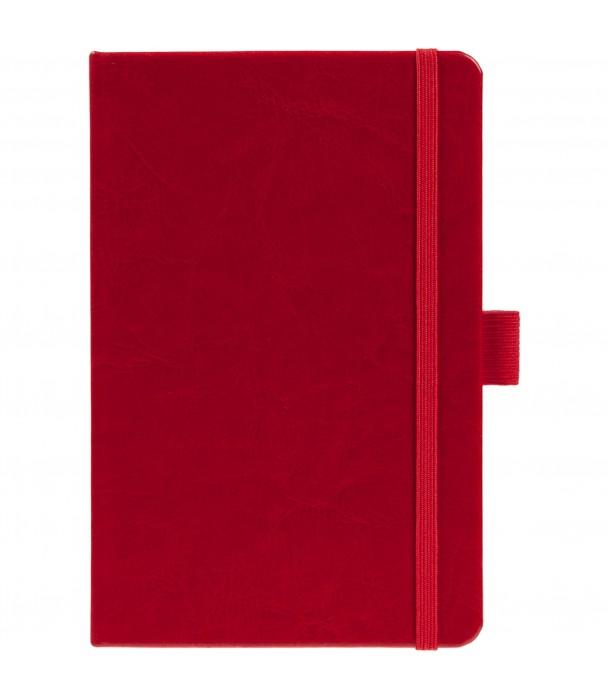 Блокнот Freenote mini в линейку, темно-красный Адъютант