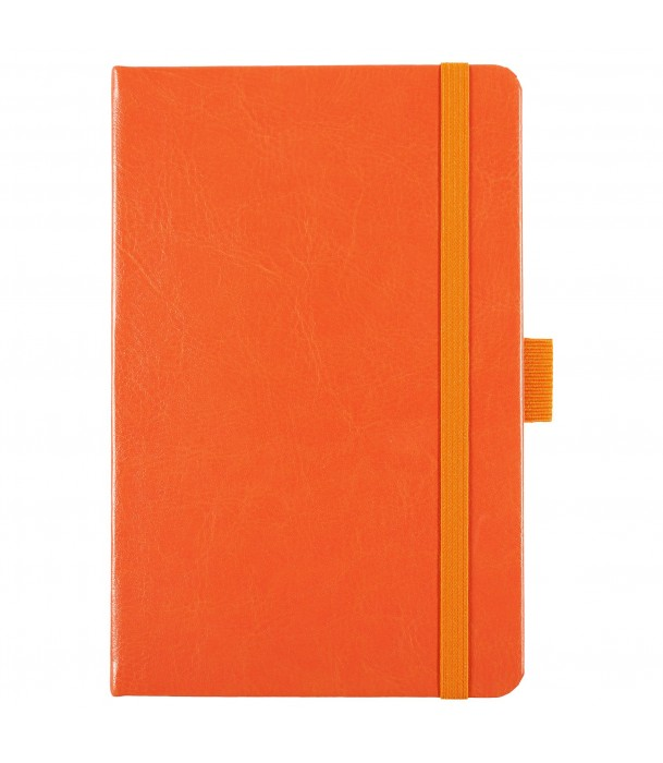 Блокнот Freenote mini в линейку, оранжевый Адъютант