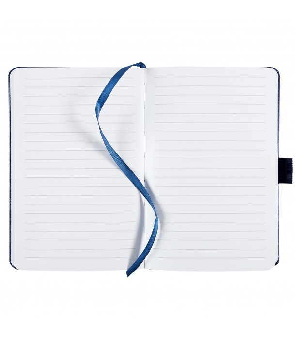 Блокнот Freenote mini в линейку, синий Адъютант