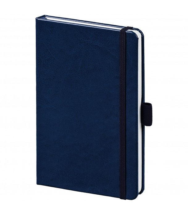 Блокнот Freenote mini в линейку, темно-синий Адъютант