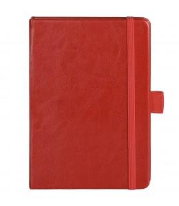 Блокнот Freenote mini в линейку, красный