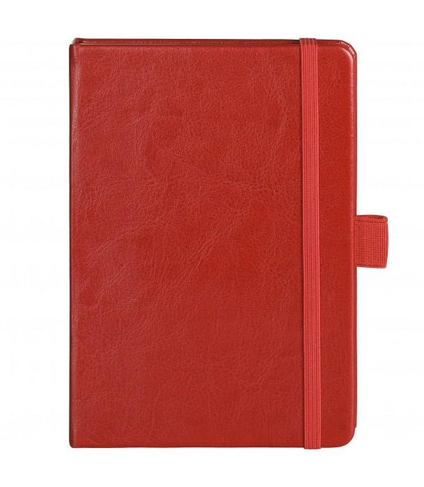 Блокнот Freenote mini в линейку, красный Адъютант
