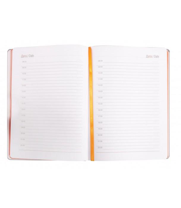 Ежедневник оранжевый Freenote недатированный Адъютант
