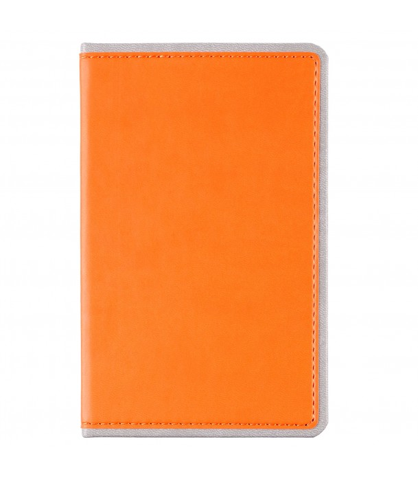 Ежедневник Freenote mini недатированны оранжевый Адъютант