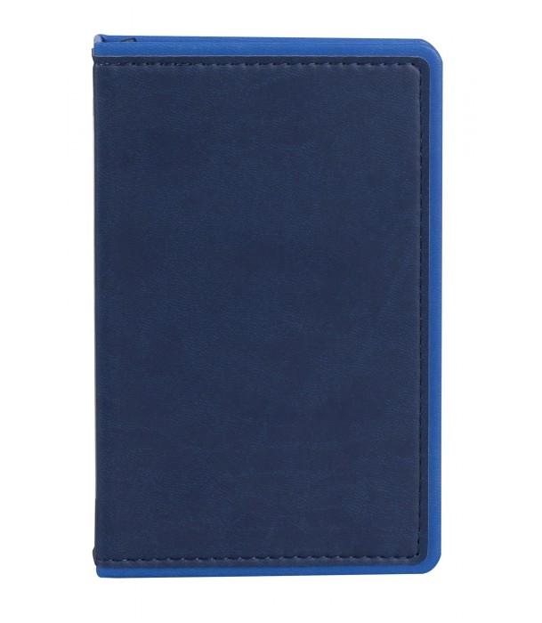 Ежедневник Freenote mini недатированный, синий Адъютант