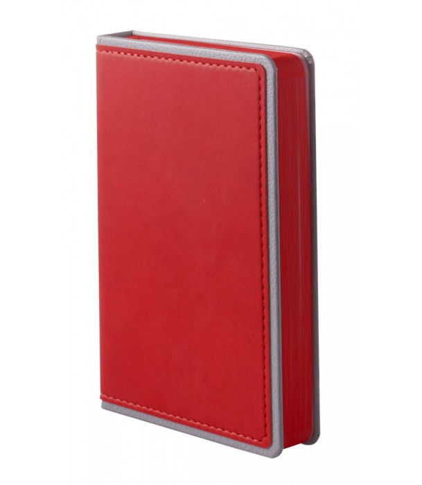 Ежедневник Freenote mini недатированный, красный Адъютант