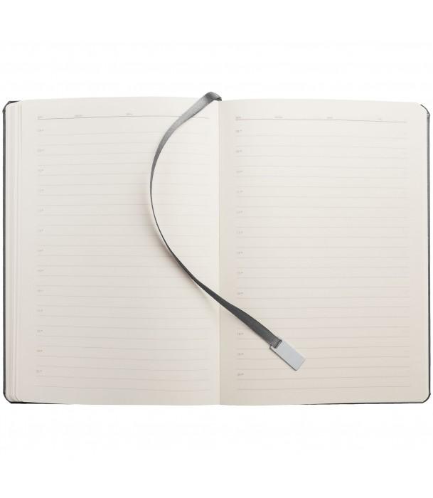 Ежедневник Ever, недатированный, серебристый Адъютант