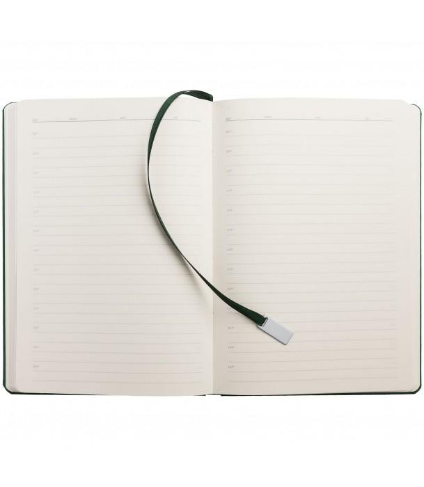 Ежедневник Ever, недатированный, зеленый Адъютант