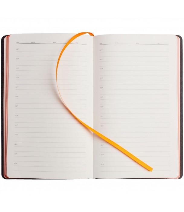 Ежедневник My Day недатированный, оранжевый Адъютант