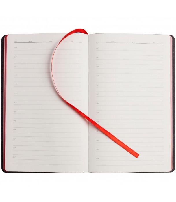 Ежедневник My Day недатированный, красный Адъютант