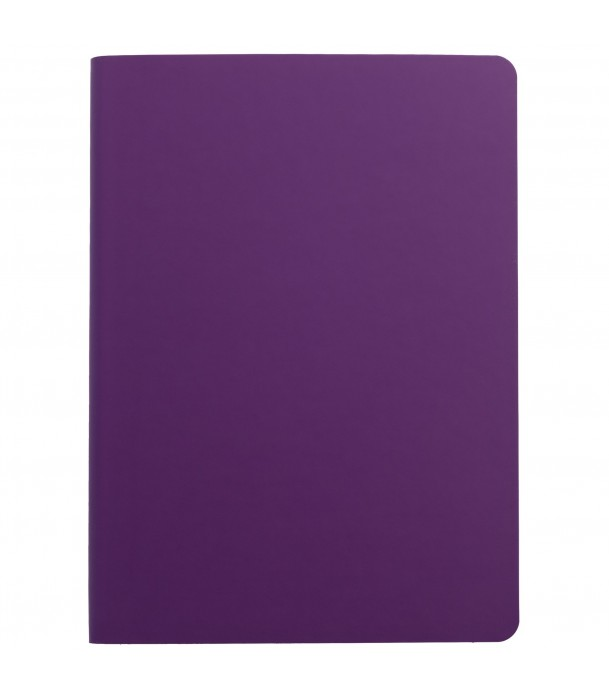 Ежедневник Flex Shall недатированный, фиолетовый Адъютант