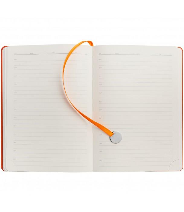 Ежедневник Exact, недатированный, оранжевый Адъютант