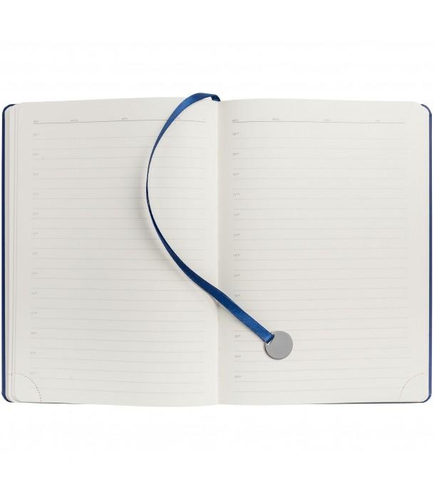 Ежедневник Exact, недатированный, темно-синий Адъютант