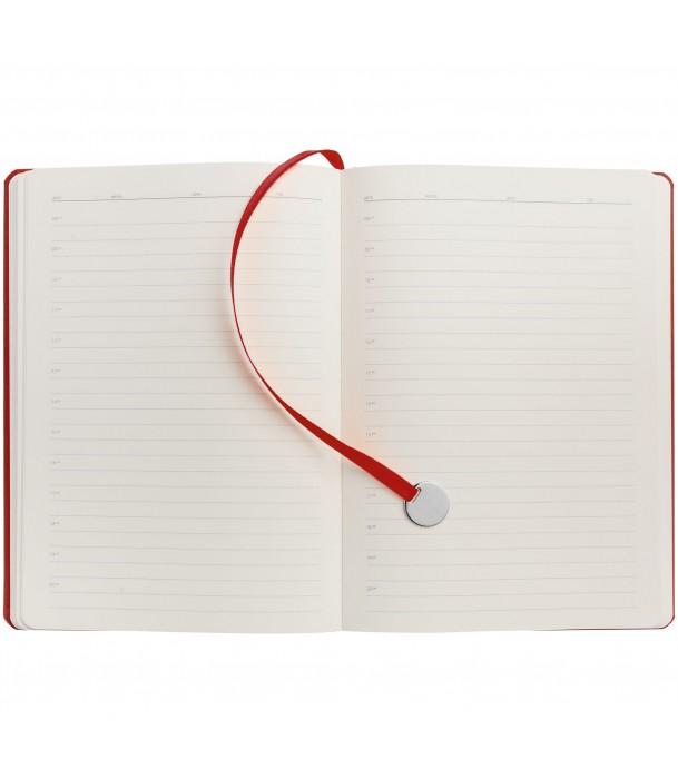 Ежедневник Exact недатированный, красный Адъютант