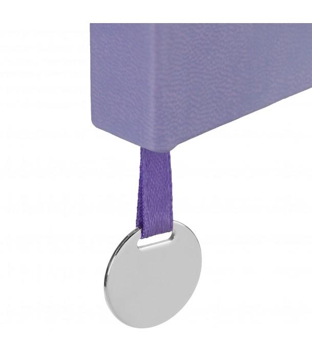 Ежедневник Exact, недатированный, фиолетовый Адъютант