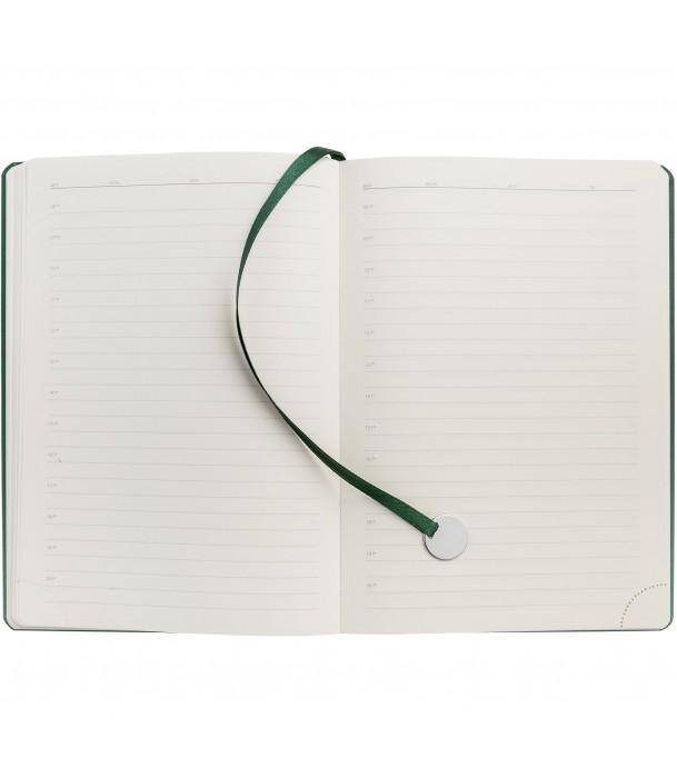 Ежедневник Exact, недатированный, зеленый Адъютант